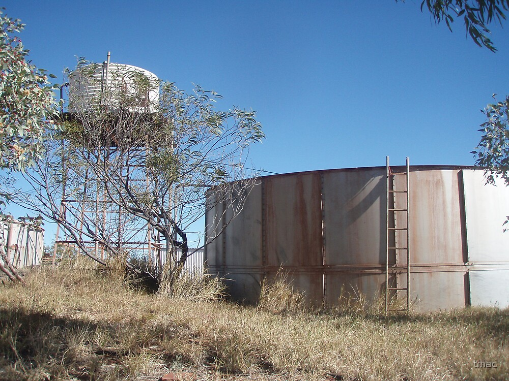 Tennant Creek, NT, Australia - Old Water Tanks by tmac