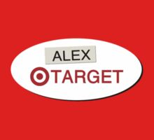 Alex From Target Badge by Dominique Demetz