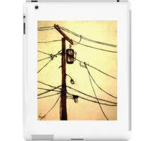 """You Pay for the View - """"Wired"""" Series iPad Case/Skin"""