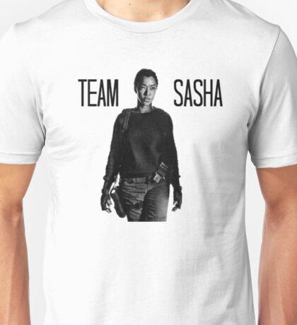 Team Sasha- The Walking Dead Unisex T-Shirt