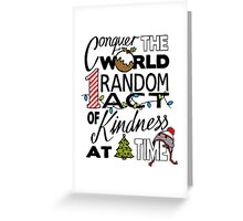 Acts of Kindness  Greeting Card