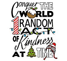 Acts of Kindness  Photographic Print
