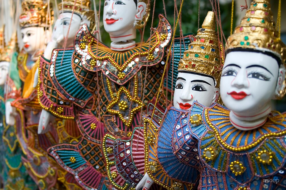 Thailand Dolls by nsoup