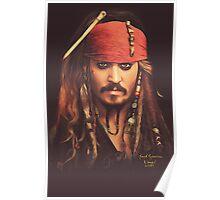 Jack Sparrow | Digital Painting  Poster