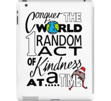Acts of Kindness (all year round!) iPad Case/Skin
