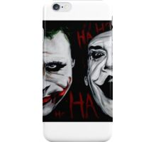 Faces of Joker iPhone Case/Skin