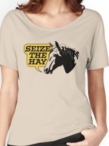 Seize The Hay Women's Relaxed Fit T-Shirt