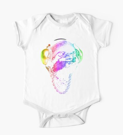 Sloth (Rainbow B-Boy Style) One Piece - Short Sleeve