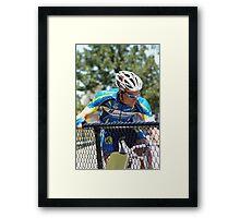 Ready to race Framed Print