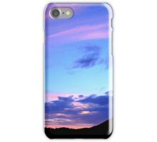Sunday Sunset ~ digital paint effect iPhone Case/Skin