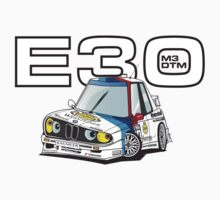 BMW E30 M3 DTM by DaveCT