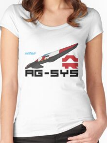 AG-System Women's Fitted Scoop T-Shirt