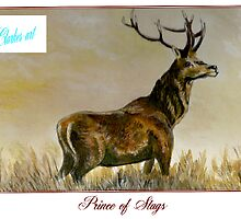 Prince of Stags by clarkesart