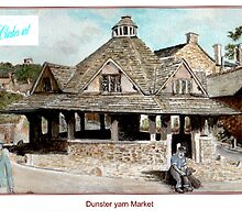 Dunster Yarn Market by clarkesart