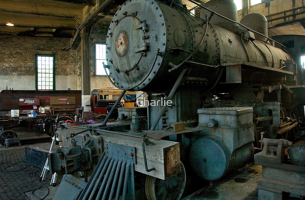 Locomotive Restoration by Charlie
