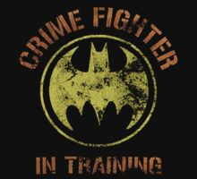 Crime fighter in training by nickeybird