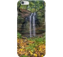 Tannery Falls Autumn iPhone Case/Skin