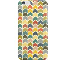 baby ikat arrows cream iPhone Case/Skin