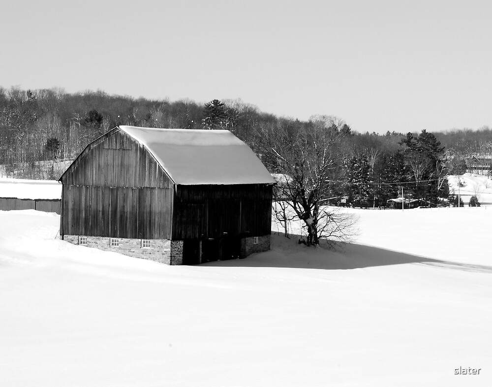 Old Barn by slater