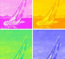 Sailing in Colors by Ivan P. (John) Dobranic