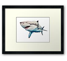 GW Shark Only Framed Print
