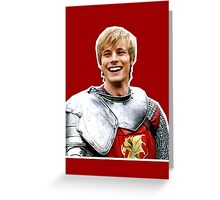 Prince Arthur Greeting Card