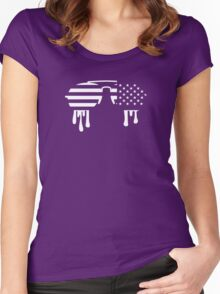 Sunglasses USA Women's Fitted Scoop T-Shirt