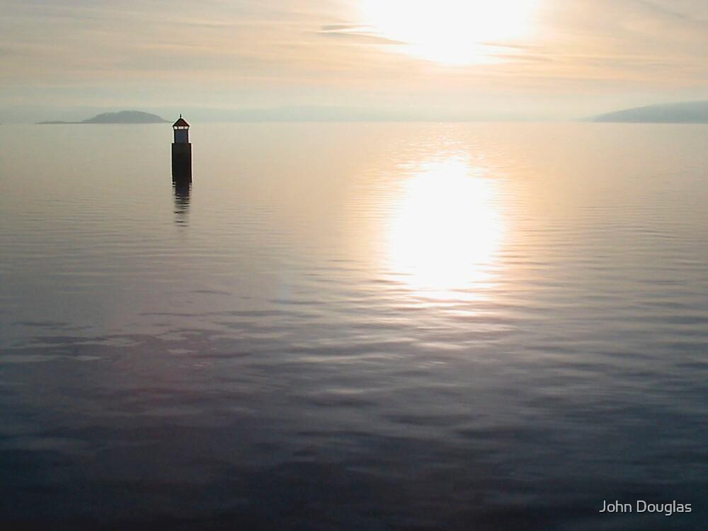 Fjord, Norway. by John Douglas