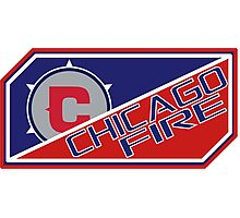 Chicago Fire Photographic Print