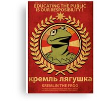 Kremlin The Frog Canvas Print