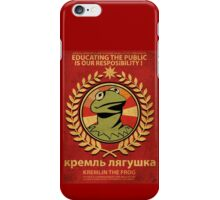 Kremlin The Frog iPhone Case/Skin