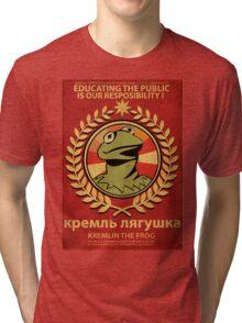 Kremlin The Frog Tri-blend T-Shirt