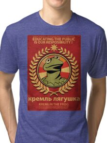 Kremlin The Frog Tri-blend T-Shirt