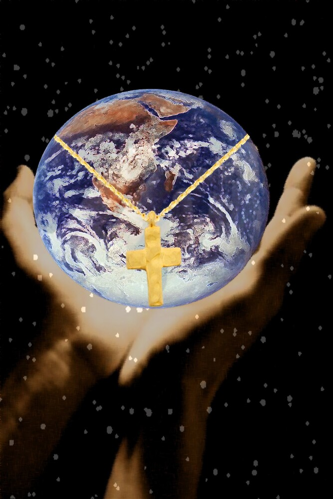 The World is in His Hands by pr1konnect