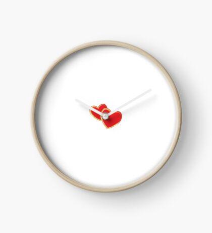 Lovely Hearts Clock