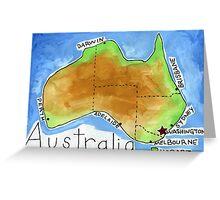 Australia's Capital Greeting Card