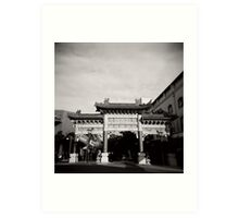 China Town - Brisbane Art Print