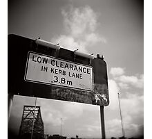 Low Clearance Photographic Print