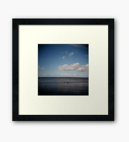 Sea Framed Print