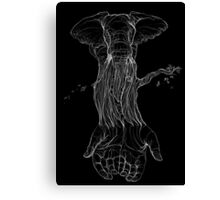 My Exquisite Corpse, Part One Canvas Print