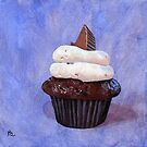 Orgasmic cupcake painting by ria hills