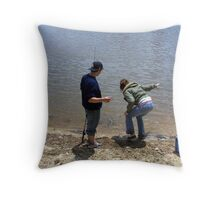 loch ness??? Throw Pillow