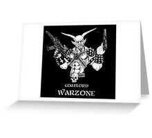 Goatlord Warzone Greeting Card