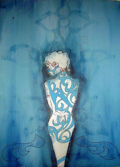 Blue Girl Confused by vjwriggs