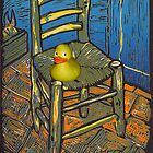 Rubber Duckie for van Gogh by Marilyn Brown