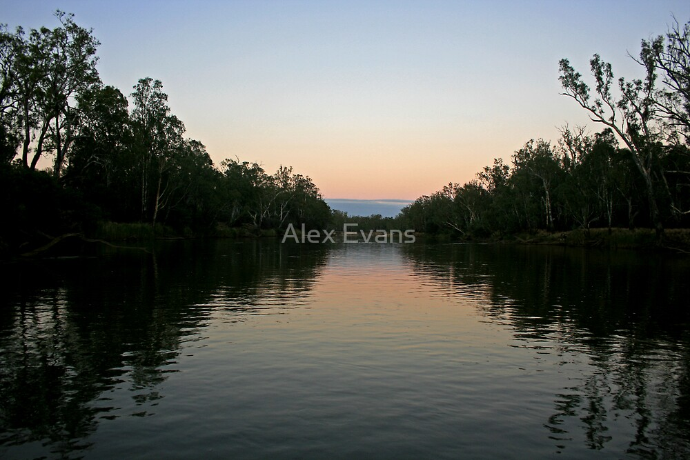 Murray Morning by Alex Evans