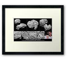 Artist_s_impression_of_the_Philae_lander_ Framed Print