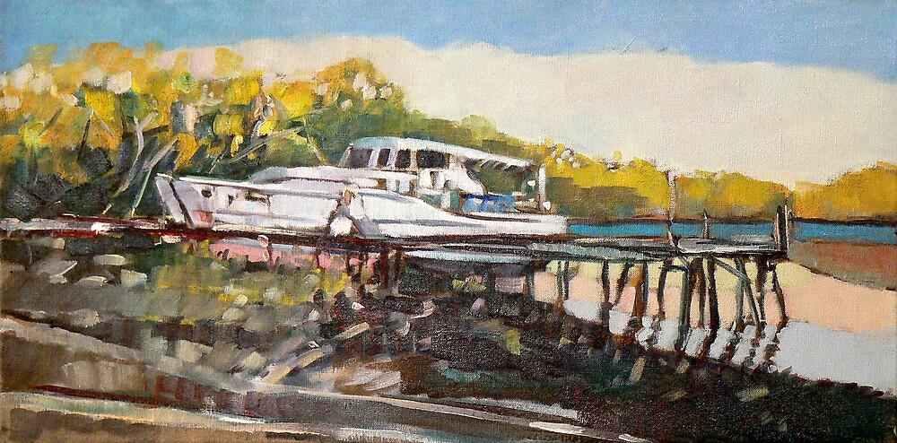 Low Tide Lota by Paul  Milburn