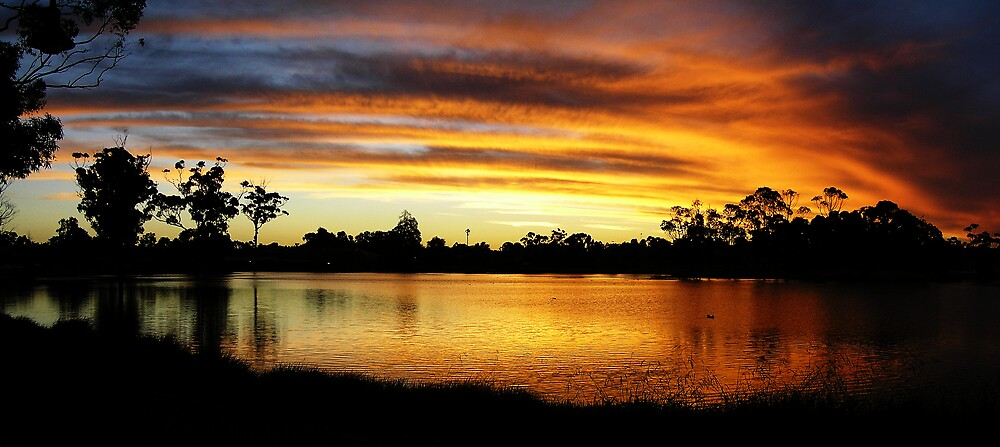 Lake Neangar Sunset by Joel Bramley