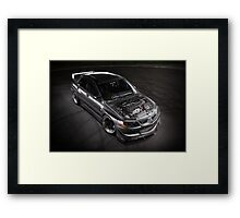 Matt Baxter's Mitsubishi Evolution Framed Print